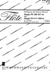 Mozart- Adagio KV 356 und Adagio KV 411 for Flute