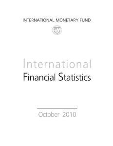 2010d国际金融10月份imf出版
