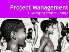 【项目管理培训】变更管理- Project Change Management