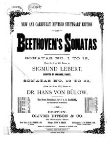 贝多芬奏鸣曲节选