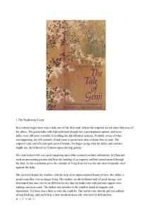 【英文原版小说】The Tale of Genji【源氏物语】
