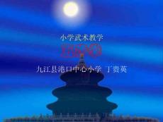 小学武术教学五步拳