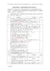安监局考试实操汇总-更新20150615