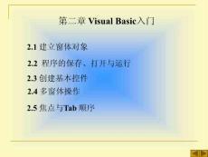 第二章 Visual Basic入门