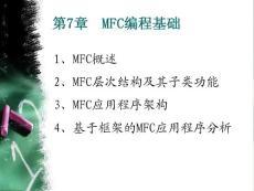 认证考试第5讲 mfc 编程基础1