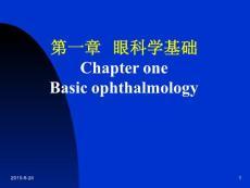 眼科学基础 (双语)