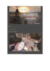 《刺客信条3:解放》完整游戏图文攻略(含附加任务攻略)