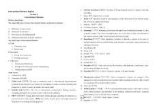 [新版]国际商务英语总温习资料