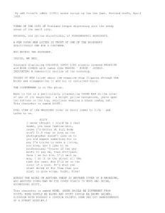 My Own Private Idaho (1991) movie script by Gus Van Sant