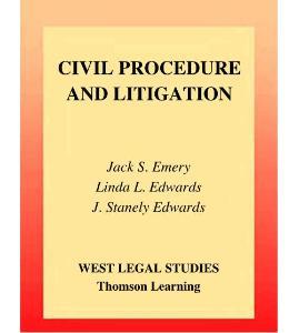 民事程序与诉讼 Civil Procedure