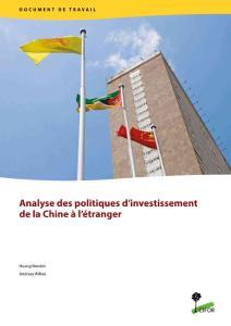 Analyse des politiques d'investissement de la Chine