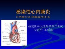 感染性心内膜炎课件(上)内科学第七版第九章