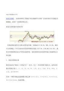 [講稿]黃金分割線指標及應用