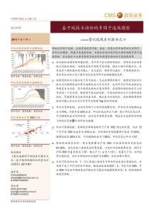 量化选股系列报告之六:基于纯技术指标的多因子选股模型
