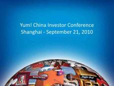 Yum! China Investor Conference Shanghai - ...