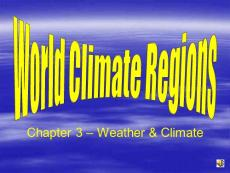 Climate Regions