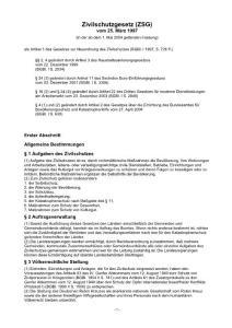 【德国法律法规】Zivilschutzgesetz (ZSG)民防法(巴伐利亚州)