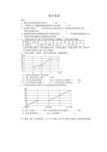 小学六年级数学总复习题库(统计图表)