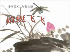 人教版小学美术二年级上册《蜻蜓飞飞》PPT课件