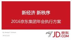 2016京东集团年会执行方案全案