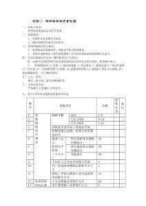 华东交通大学车辆工程转向架落成质量检查实验指导书