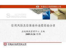 PPT-信用风险及信保海外追偿经验分享应收账款管理中心王殊