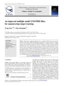 an improved multiple model gm-phd filter for maneuvering target tracking