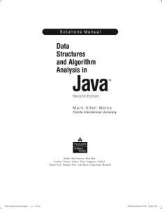习题答案 数据结构与算法分析java语言描述第二版MarkAllenWeiss.pdf