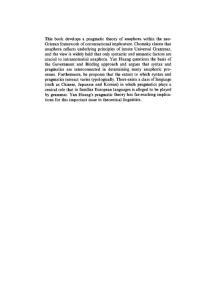 英语回指研究(anaphora)