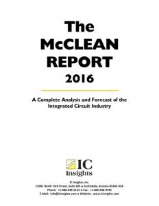 The McClean Report 2016