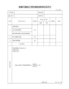 建筑GB/T50375-2016规范表格