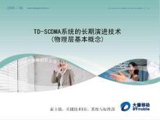 TD-SCDMA系统的长期演进技术_2_物理层基本概念_V1.0