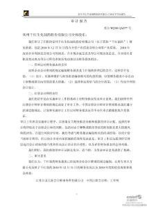 千红制药:2019年年度审计报告.ppt