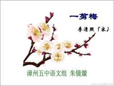 高中语文选修中国古代诗歌散文欣赏《一剪梅李清照》PPT课件(5)