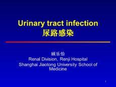 内科学精品教学课件(时国朝)27 urinary tract infection尿路感染