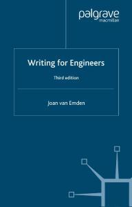 工程师写作 Writing for E..