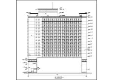 整套高层大酒店建筑设计施工图纸