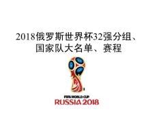【精品】2018俄罗斯世界杯..