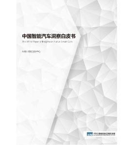 行业深度报告: 中国智能汽车洞察白皮书