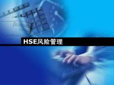 hse风险管理理论与方法ppt课件