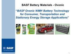 电池技术课件BASF Battery Materials - Ovonic