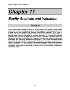 Financial statement analysis (tenth edition) solution for Ch_11