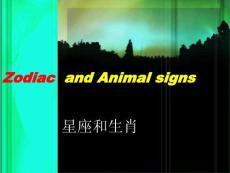 HOROSCOPE AND ANIMAL SIGN 各种星座的英文 英语常识  星座物语