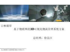 吉林烟草基于物联网的3d可视化智慧物流管理平台(0723)ppt精选文档