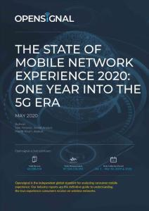 5G时代移动网络体验报告