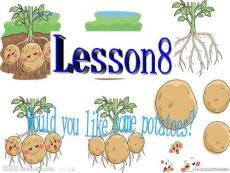 五年级英语上册 Lesson 8 Would you like some potatoes课件5 科普版.ppt
