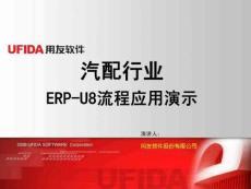 汽配行业ERP-U8流程应用演示
