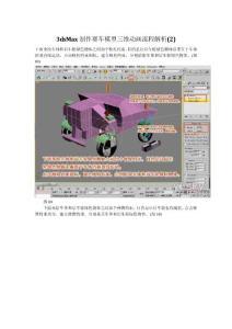 3dsMax制作赛车模型
