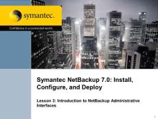 Symantec Netbackup 7 Training-1