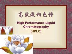 高效液相色谱技术的发展
